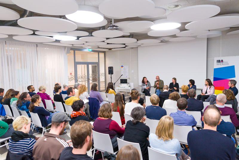 Publikum des IBA-Talks: Jugendliche erwünscht!