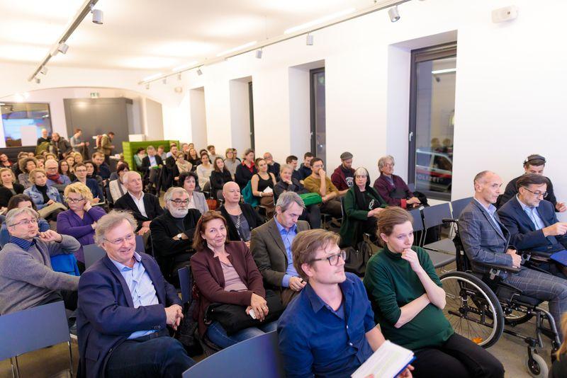 Publikum des IBA-Talks Auftakts 2017
