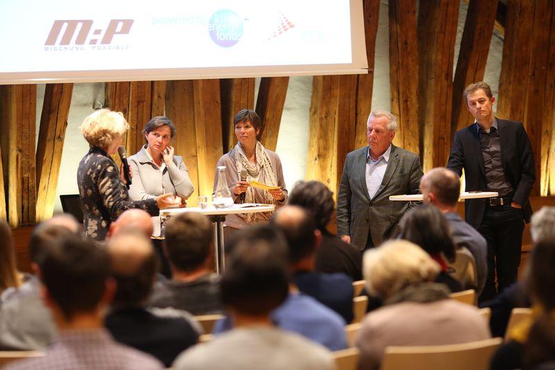 Podium IBA-Talk Gemischte Stadt