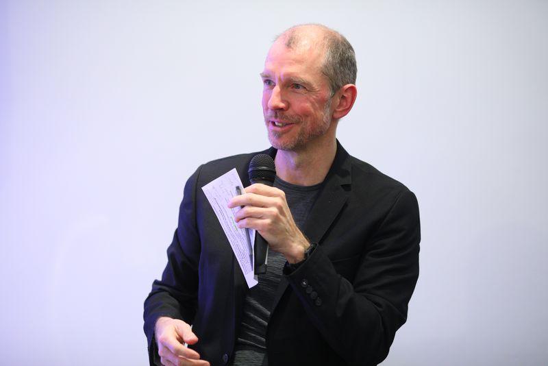 Moderator Wolfgang Gerlich