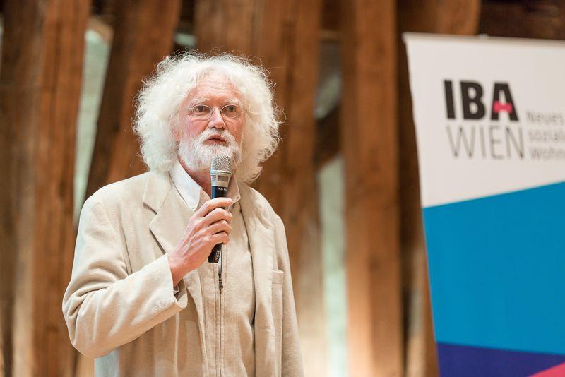 Begrüßung durch Helmut Schramm von der TU Wien