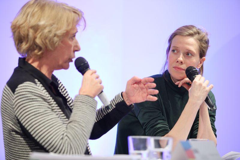 Cornelia Schindler und Margot Deerenberg
