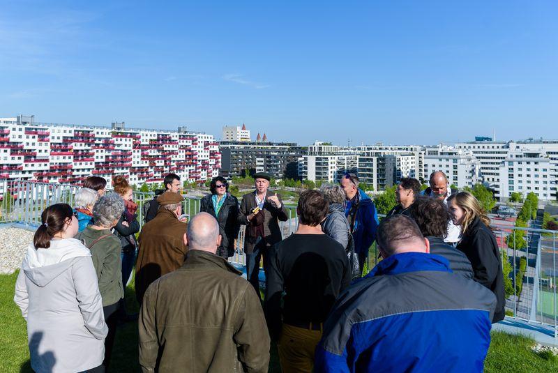 Führung durch das Wohnprojekt Wien
