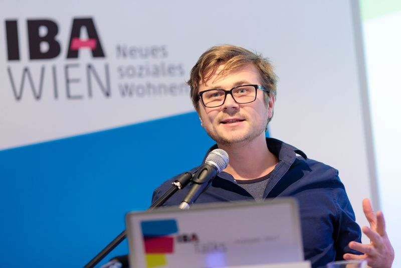 Begrüßung durch Daniel Glaser, IBA_Wien