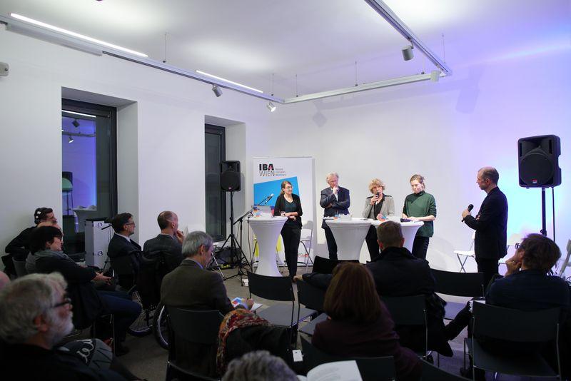 """IBA-Talk """"Schafft Wohnbau Quartiere"""" - Diskussionsrunde"""