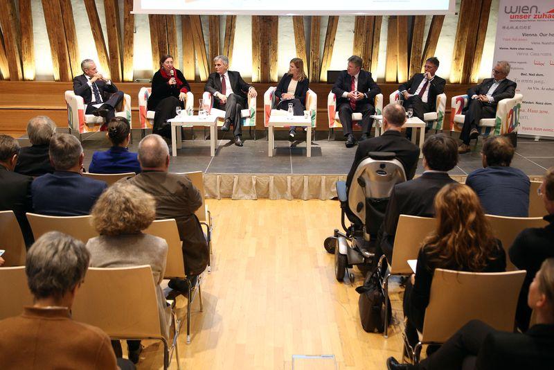 """Diskussion zum Thema """"Gemeinnütziger Wohnbau"""""""