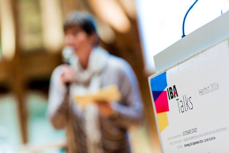 IBA-Talk zum Thema Gemischte Stadt - Mischung: Possible! im Kuppelsaal der TU Wien