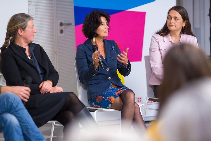 Barbara Willecke, Christiane Spiel und Claudia Prinz-Brandenburg