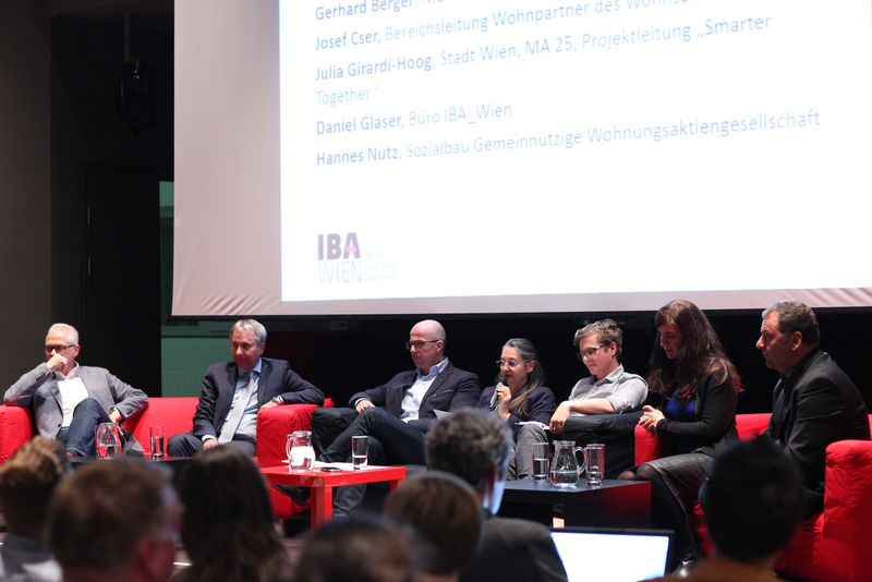 IBA-Talk Bestandsentwicklung und Stadterneuerung in der VHS Simmering